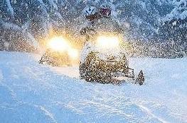 Białka Tatrzańska Atrakcja Skutery śnieżne Exfun